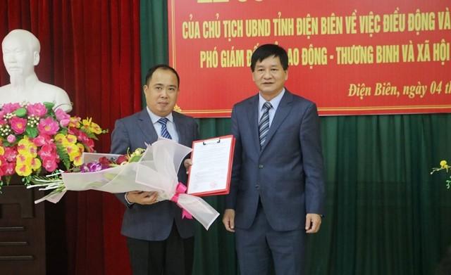 Lễ công bố Quyết định bổ nhiệm Phó Giám đốc Sở Lao động – Thương binh và Xã hội tỉnh Điện Biên
